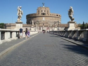 Castel Sant'Angelo - Borgo District Rome