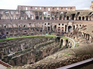 Colosseum  - Celio district Rome