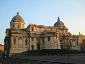 Esquilino District Rome - Saint Mary Major (Via Cavour side)