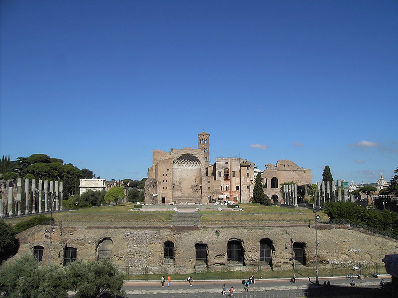 Rome - Temple of Venus and Roma