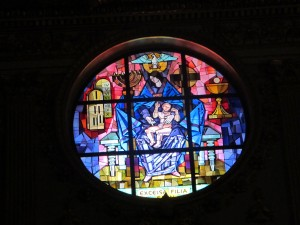 Stained Glass Saint Mary Major