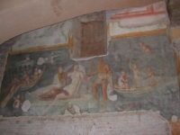 Roman Houses Celio Hill Rome - Fresco