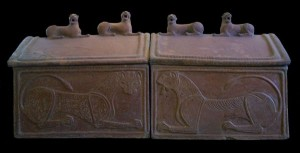 Sarcophagus of the Lions - Etruscan Museum Rome