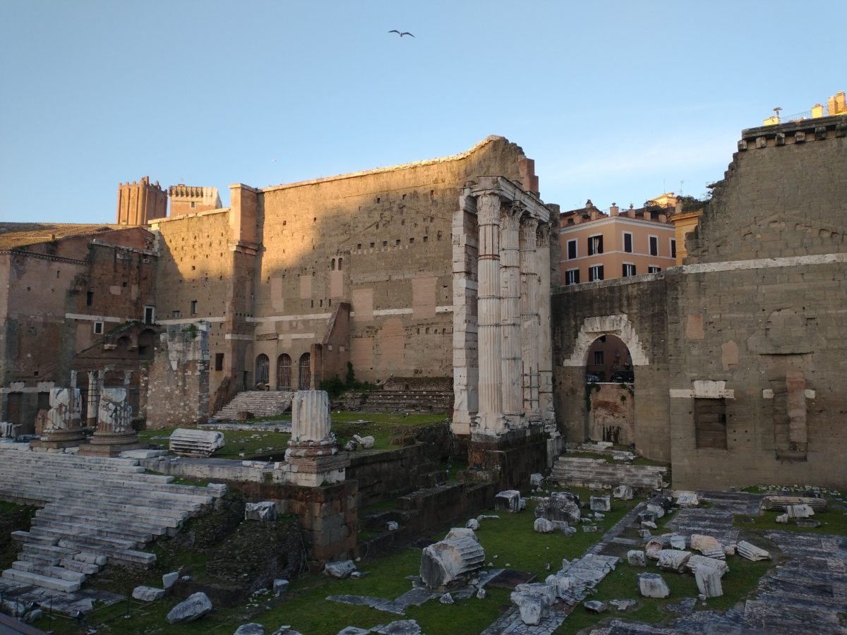 Forum of Augustus - Top 10 tourist attractions Monti district Rome
