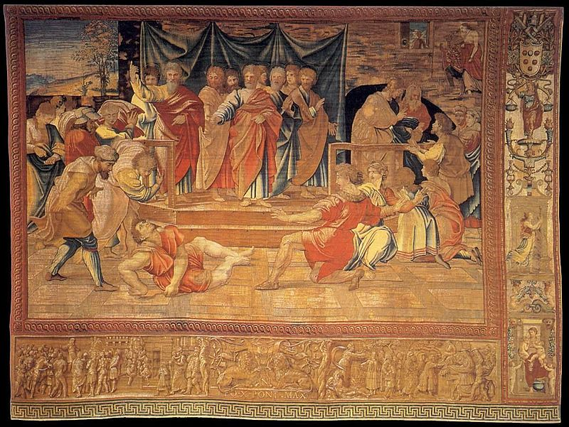 """Death of Ananias"""