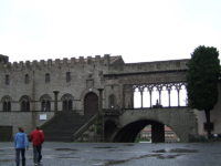 Palazzo Papale Viterbo and lodge