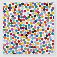 """""""Economy Mince"""", Damien Hirst, Galleria Borghese Rome, 2021."""